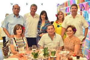 18092019 FIESTA MEXICANA.  Los Sembradores de Amistad estuvieron presentes en una comida realizada en Plaza Peñoles del Museo Arocena.