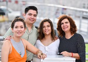 18092019 Paulina, Miguel, Adriana y Claudia.