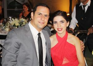 Carlos Giacoman y Sofia Talamas