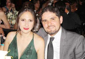 Eugenia Berlanga y Ricardo Marcos