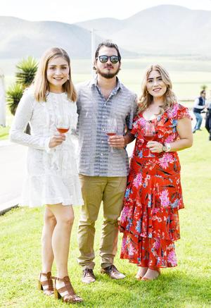 Gloria Isabel Gutierrez,Ruben Rodriguez y Veronica de la Garza