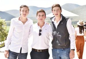 Leo Mendel, Juan Carlos Villarreal y David Mendel