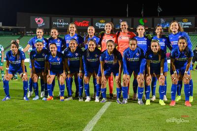Equipo de Cruz Azul femenil   Santos vs Cruz Azul  juego correspondiente a la jornada 10 de la apertura 2019 de la Liga MX femenil en TSM Oficial - lunes 16 de septiembre de 2019 21:00h