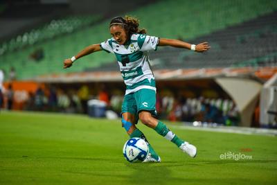 Nancy Quiñones 11    Santos 2 - Cruz Azul 0