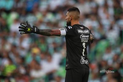 Jonathan Orozco  #1 Portero Santos  Santos vs Pachuca