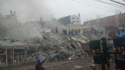 Dieron así 17 marcaciones positivas por parte de estos elementos de Torreón en el sismo que registró una magnitud de 7.1 grados en la escala Richter.