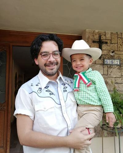 Marcelino y su sobrino.