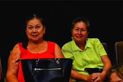 Ana María y María de Lourdes.