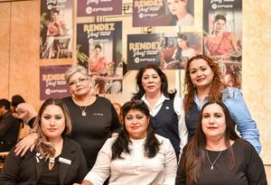 19092019 Miriam Mendoza, Mayela Gama, Yessica Chávez, Reyna Reyes, María Gallardo y Mayela Pinedo.