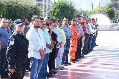 Fue en punto de las 10:00 horas que se emitió una alerta de evacuación en la totalidad de los pisos de presidencia en Torreón.