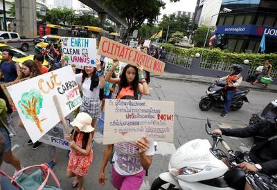 Movilización en Tailandia.