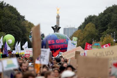 El movimiento es inspirado por la ambientalista sueca Greta Thunberg.