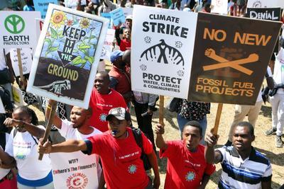Movilización en Kenia.