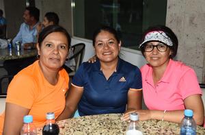 20092019 Claudia, Eloísa y Rosy.