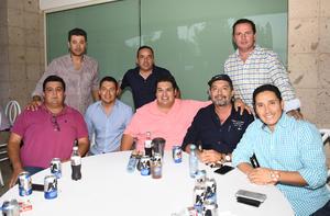 20092019 Salvador, Gerardo, Roberto, Pedro, Manuel, Fernando, Fernando y José.