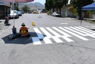 La actividad resaltaba la importancia de los derechos del peatón y su seguridad al caminar por las calles de Torreón.