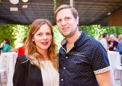 Diana Valdes y Gunther Rodriguez.