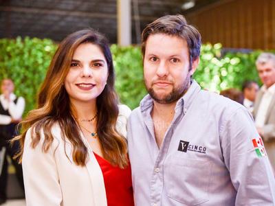 Mayte Valdes y Carlos Acosta.