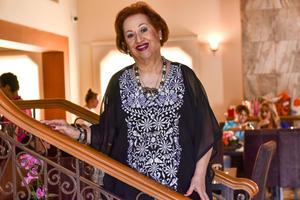 21092019 UN AñO MáS DE VIDA.  Tita Chiffer celebró su cumpleaños por lo que recibió una fiesta sorpresa.