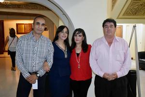 22092019 José María, Eva, Minerva y Juan Carlos.