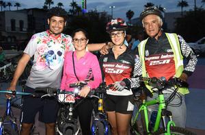21092019 Tania Ortiz, Verónica Ortiz, Luis Velázquez y Gerardo Ortiz.