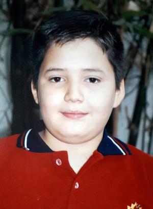 22092019 CERCANO CUMPLEAñOS.  Esta semana cumple 11 años Federico Abraham Jiménez Nájera. Sus orgullosos papás Federico y Elizabeth lo felicitan.