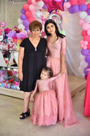 21092019 CELEBRACIóN DE CUMPLEAñOS.  Irma Raquel, Mía y Paola Michelle González.
