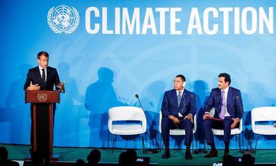 Sesenta y seis países han fijado metas ambiciosas para reducir el cambio climático y 30 de ellos prometieron anular las emisiones para mediados de este siglo.