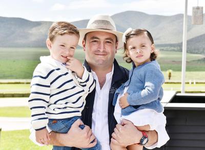 Luis,Andres y Sofia Gutierrez.