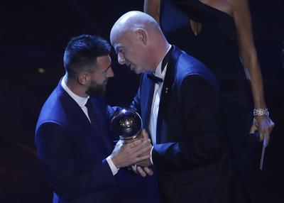 Celebran en Milán el Premio The Best FIFA 2019