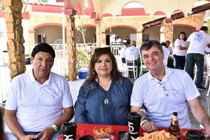 24092019 Fernando Carmona, Lety Morales y Luis Valdés.