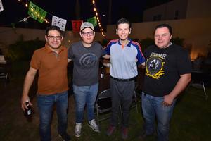 24092019 Miguel, Alfonso, Toño y Luis.