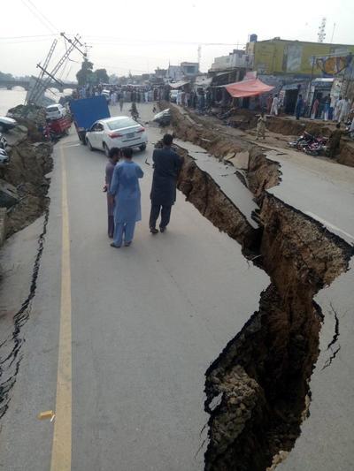 Además de las afectaciones a la infraestructura, hay víctimas mortales.