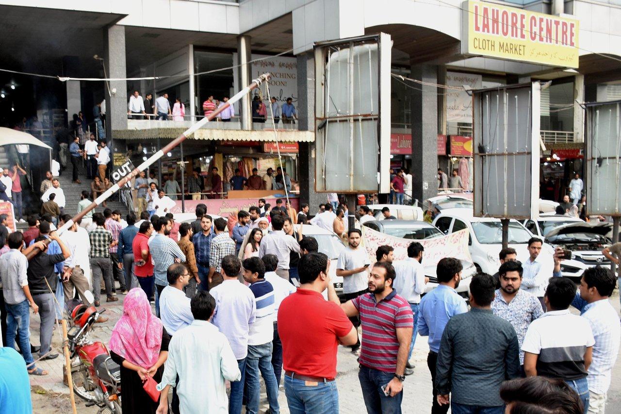 Resultado de imagen para sismo en pakistan