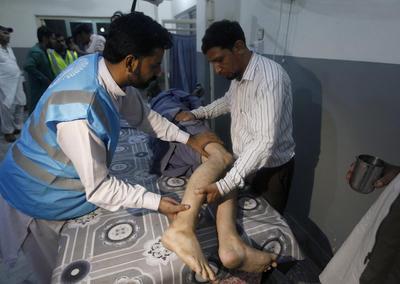 Dejó cerca de 300 personas heridas.