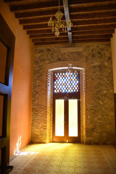 Así, la histórica casa Mudéjar toma aire del presente al futuro.