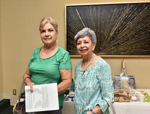 25092019 Vicky Reyes y Patricia Simental.