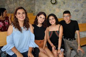 25092019 Montserrat, Frida, Victora y Daniel.