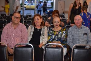 25092019 EVENTO CULTURAL.  Rodolfo, Silvia, Nancy y Salvador.