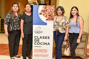 25092019 Ana Patricia Rodríguez, Laura Limones, Pamela Ibarra y Mayela Rodríguez.