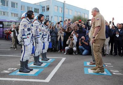 La expedición tiene como rumbo la Estación Espacial Internacional.