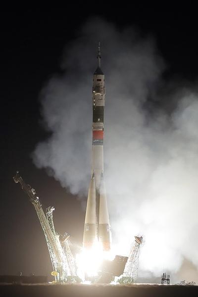 La nave fue lanzada desde el cosmódromo de Baikonur.
