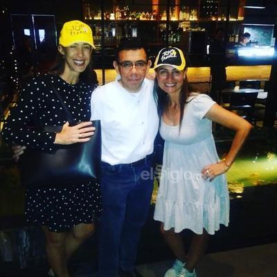 Marcela, Miguel Ángel y Liliana.