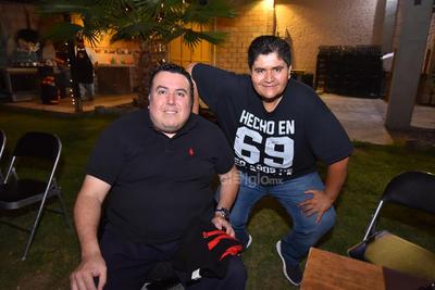 Alejandro y Arturo.
