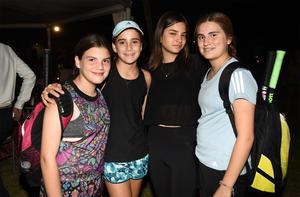 26092019 TORNEO DE TENIS Y PáDEL.  María Fernández, Frida Calleja, Luciana Gil y Mariana Martínez.