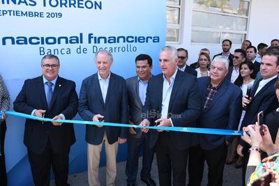Fueron inauguradas las oficinas de Nacional Financiera en Torreón.