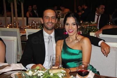 Isaac Barraza y Luisa Fernanda Quezada.