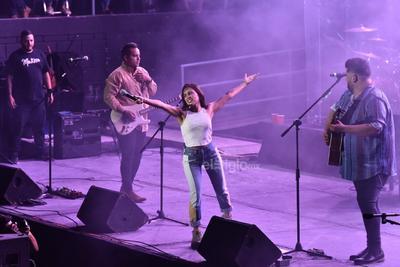 Melissa, Pablo y Román, volvieron ayer a la región para ofrecer sus éxitos ante un público entregado que disfrutó de principio a fin el espectáculo.