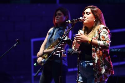I will survive, Stand by me, Oklahoma kid y Crazy, fueron algunos de los temas de la chica, quien participó en la pasada edición de La Voz Azteca.