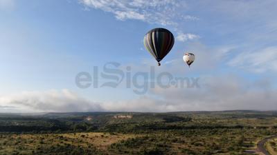 SkyFest colorea el cielo de Durango